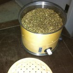 烏龍茶焙煎機(自家用)