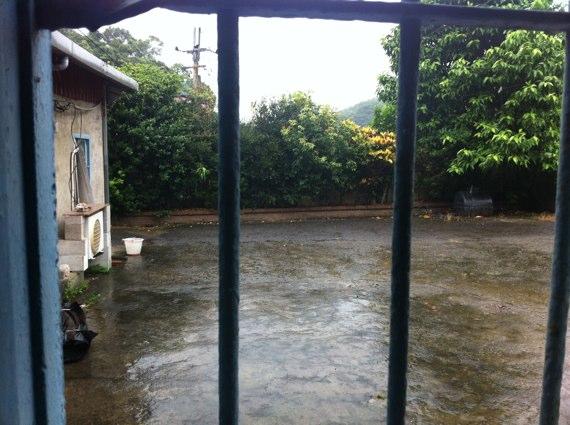 台湾雨の日