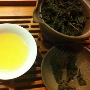 2010年冬の金萱茶テイスティング