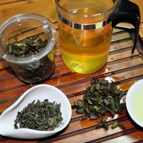 台湾茶、白鷺のテイスティング